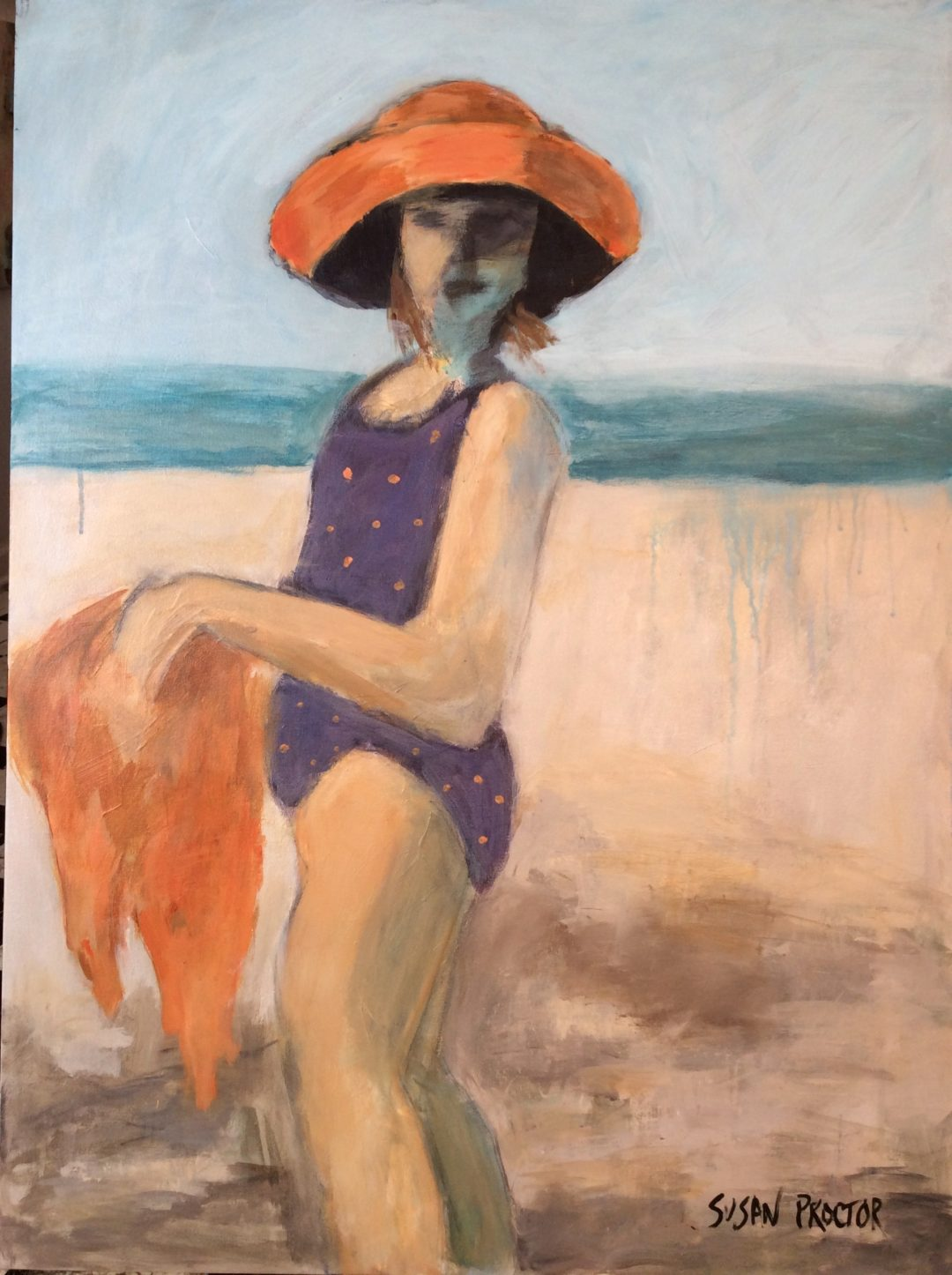 Girl With the Orange Hat