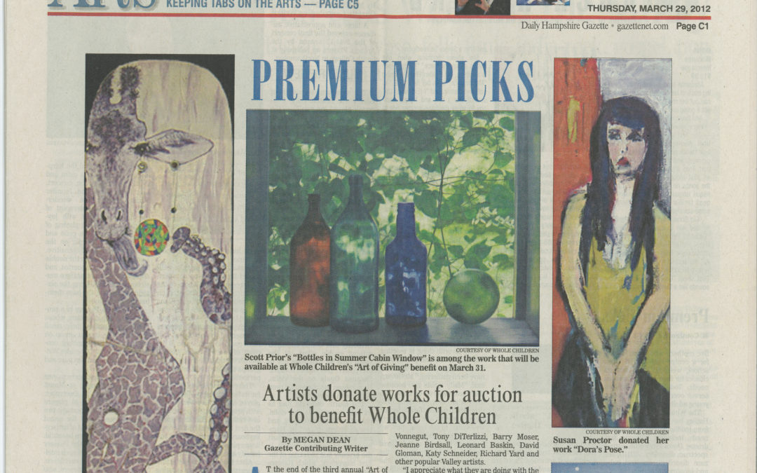 Artists donate works for auction to benefit Whole Children